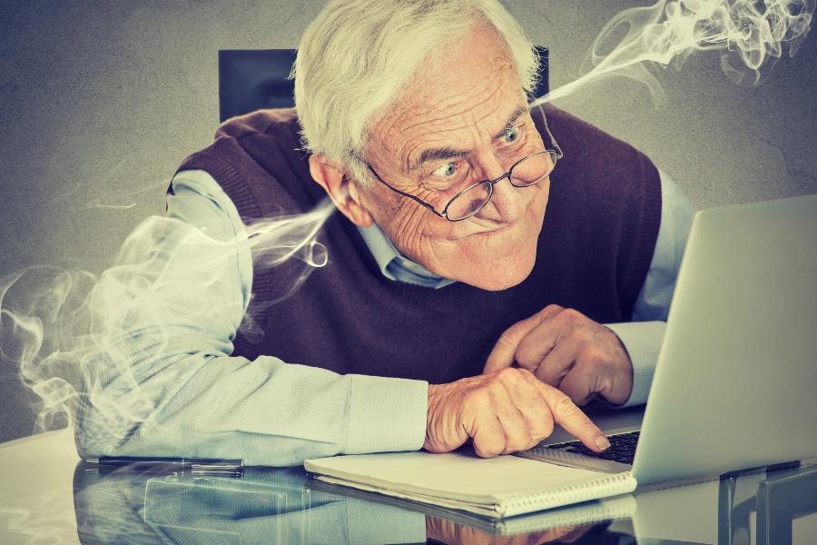 Les personnes âgées et les outils numériques